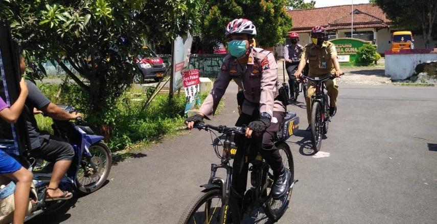 Dinilai Efektif, Polisi Purbalingga Gelar Patroli Sepeda