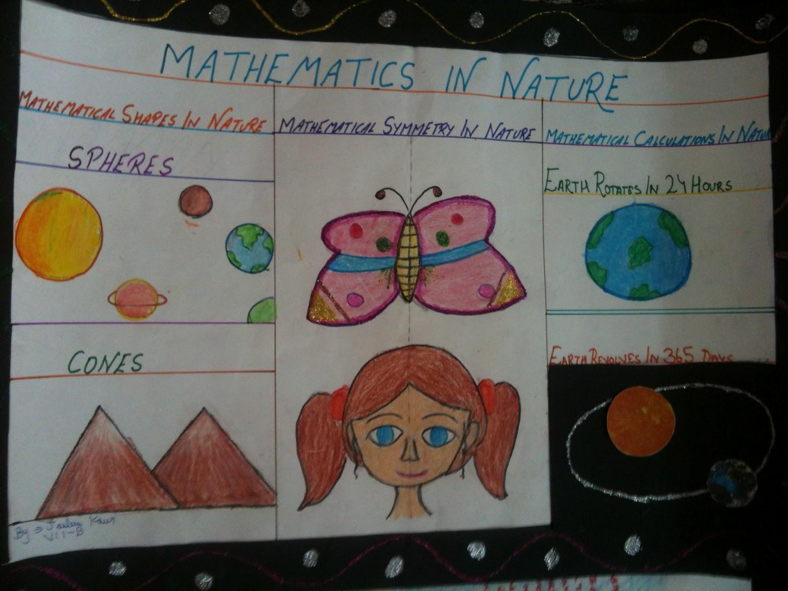Bbps Bal Bharati Public School Rohini Maths In Nature