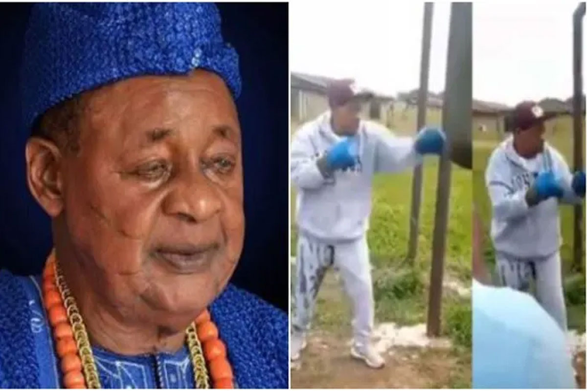 Alaafin Of Oyo Defies Old Age, Hits The Gym At 82 (Video) #Arewapublisize