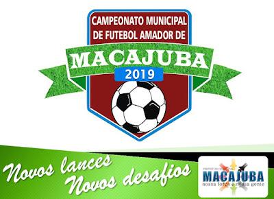 Campeonato Municipal de Futebol Amador de Macajuba 2019