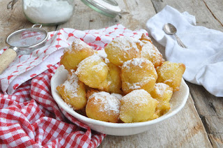 Italian Carnival Castagnole with Thermomix