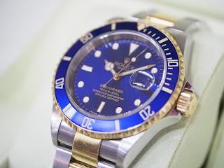 ROLEX 青サブマリーナ 16613 M番 お買い取り致しました