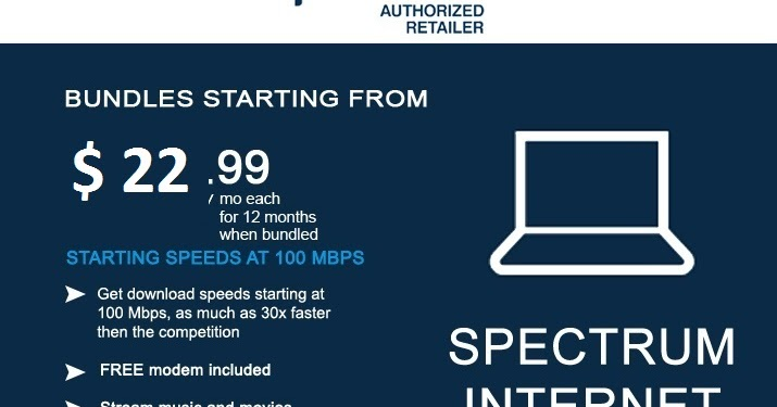 Spectrum Is Offering 100 Mbps Internet Service for Just $ 99 If You