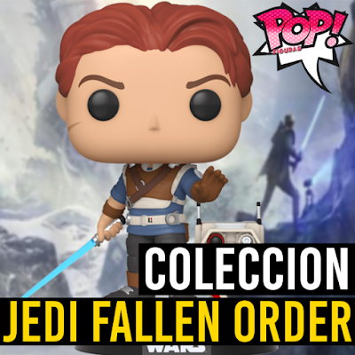 Lista de figuras funko pop de Funko Jedi Fallen Order