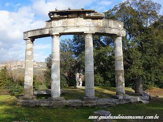 Villa Adriana templo diana guia portugues roma - Tivoli - Vila Adriana