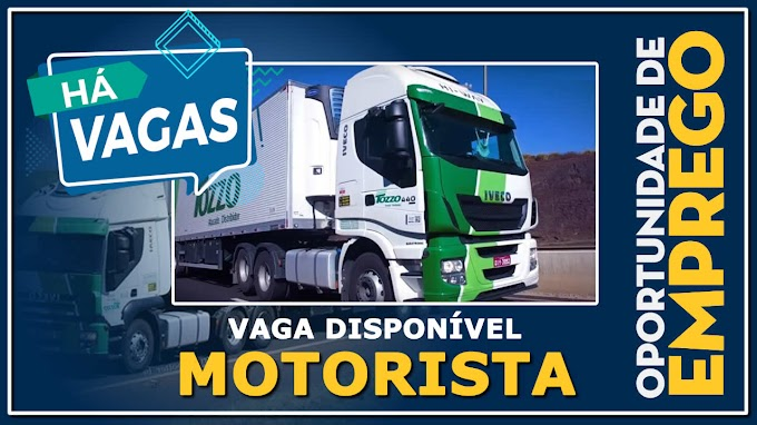 Tozzo Transportes abre vagas para Motoristas de Carreta