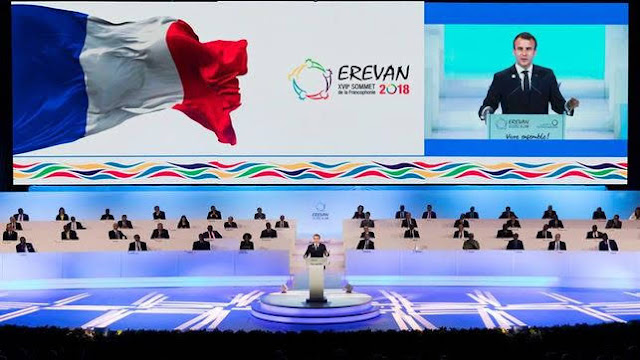 Presidente francés destacó papel de Armenia