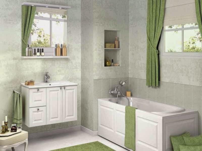 couleur peinture pour salle de bain avec des id es int ressantes pour la. Black Bedroom Furniture Sets. Home Design Ideas