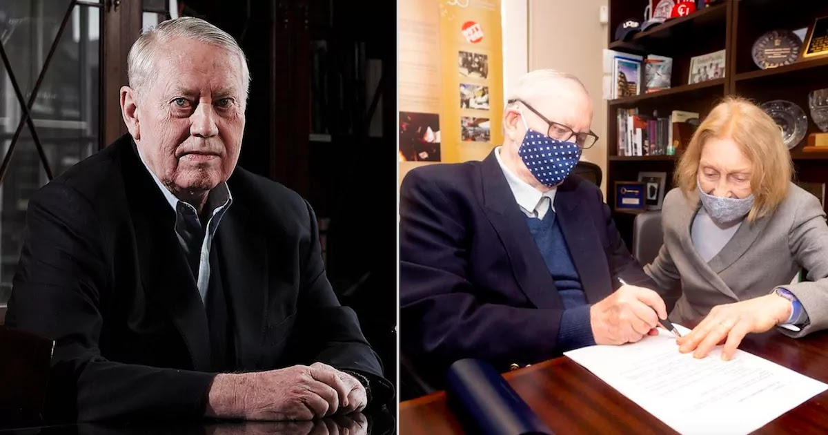 Chuck Feeney: The Billionaire Who Wanted To Die Broke Has Given Away His Entire $8 Billion Fortune