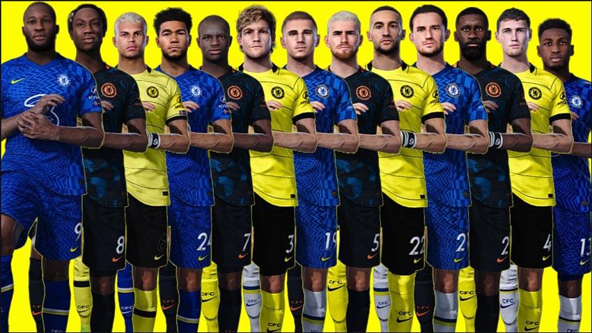 Facepack Chelsea For eFootball PES 2021