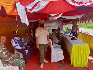 Polsek Alla Perketat Pengamanan Pos Penyekatan di Perbatasan Enrekang-Toraja