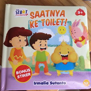 buku saatnya ke toilet
