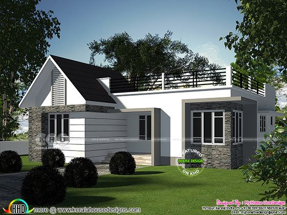 2 bedroom small budget home design architecture