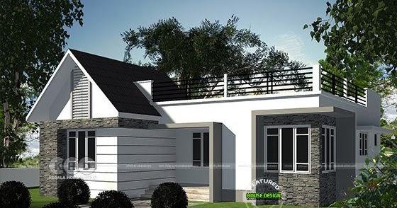 2 bedroom small budget home design architecture - Kerala ...