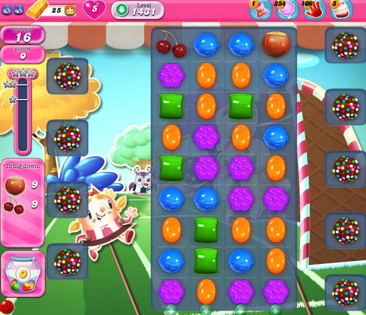 Candy Crush Saga 1431