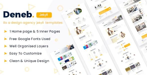 Digital Agency Jekyll Template