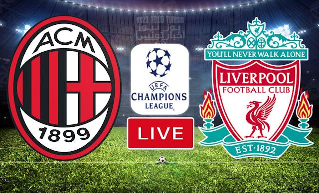 بث مباشر | مشاهدة مباراة ليفربول ضد ميلان في دوري أبطال أوروبا
