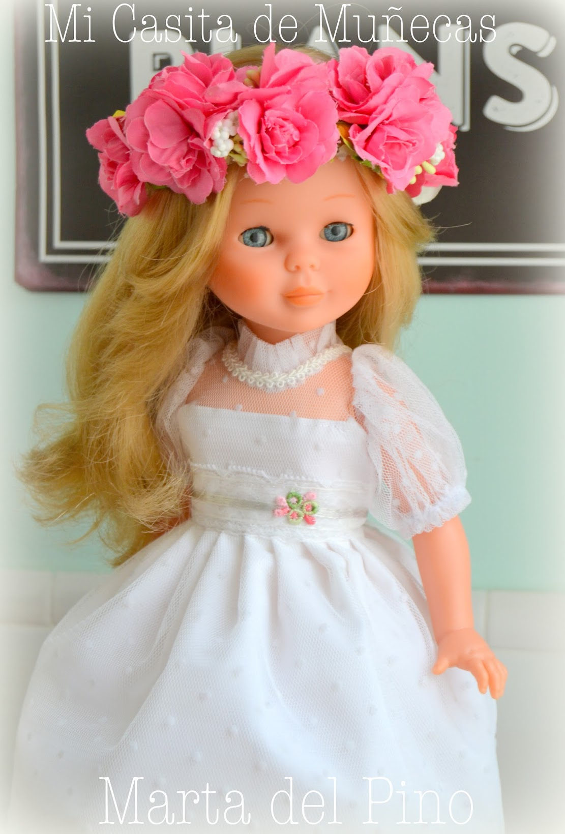 Nancy de Famosa, vestidos para Nancy, ropa para muñecas, mi casita de muñecas, marta del pino