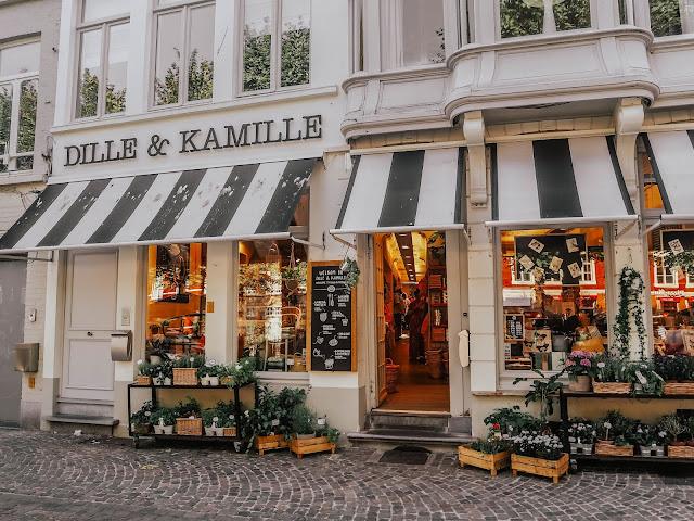Dille & Kamille Shop Bruges Belgium