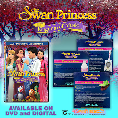 Swan Princess 25 years The Kingdom of Music