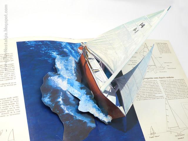 Barcos de Vela - En tres dimensiones  1984 - Editorial Atlántida   Ron Van der Meer