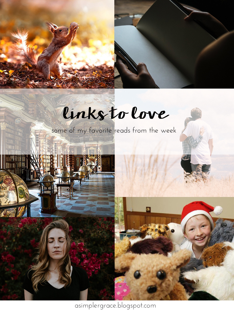 My favorite reads from the week.  #linkstolove #fridayfavorites - Links to Love | 76 - A Simpler Grace