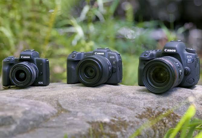 Kamera mirrorless, DSLR, camcorder