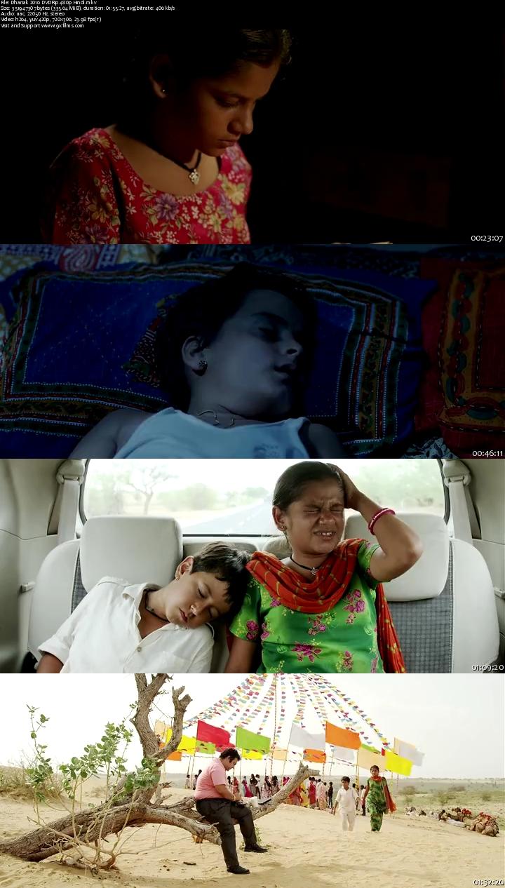 Dhanak 2016 DVDRip 480p Hindi