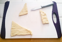 How to cut the dough