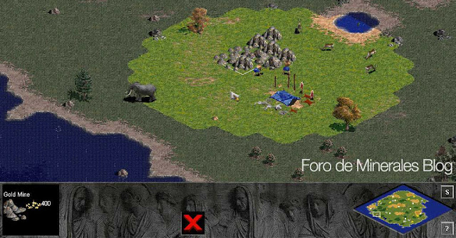 mina de oro | gold mine Age of empires1