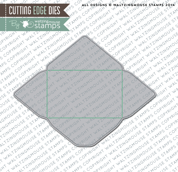 Gift Card Envelope Die from Waltzingmouse Stamps