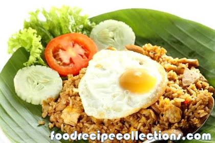 MAKING FRIED RICE WITH EGG SIMPLE RECIPE AT HOME