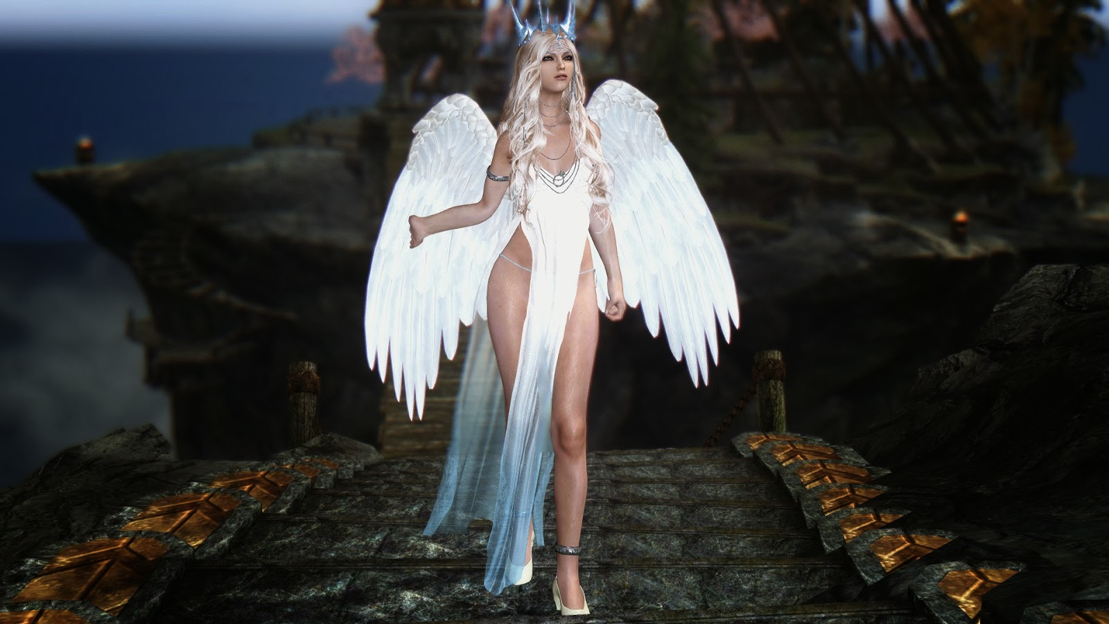 my skyrim images angel