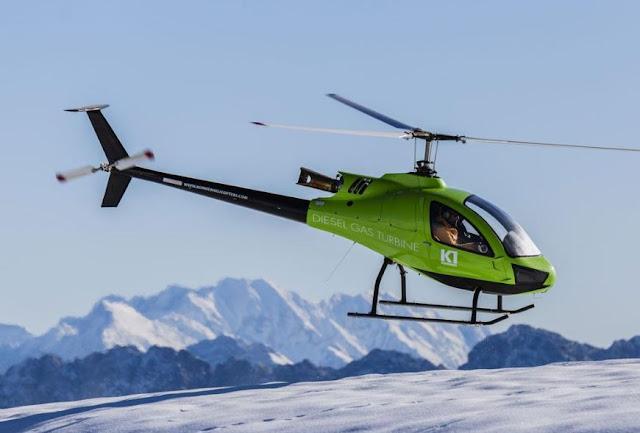 Konner K1 ultralight helicopter