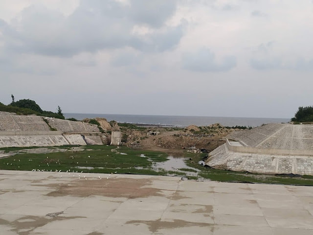 Hải Phòng: Dân Bạch Long Vĩ 'khát' nước còn hồ chứa nước ngọt thì thành 'bãi đậu' của Cò