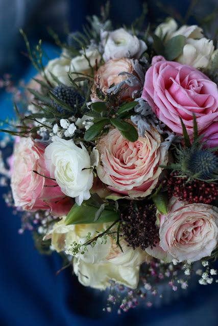 kukkakimppu, flowerbouquet, ruusuja, roses