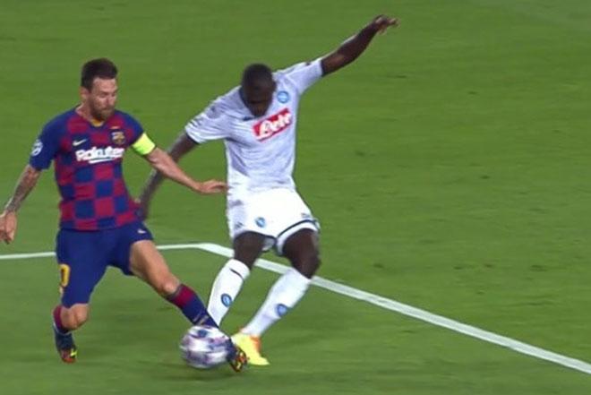 Barca lo sợ Messi dính chấn thương, Bayern - Lewandowski mừng thầm