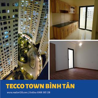 căn hộ Tecco Town Bình Tân 02 phòng ngủ