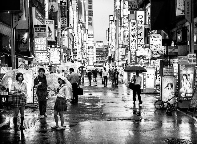 Red Light District Streets Tokyo