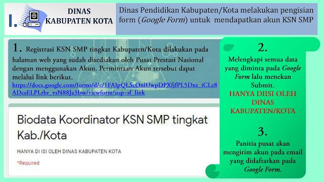 petunjuk teknis registrasi ksn smp 2020 secara daring online dinas kabupaten kota tomatalikuang.com