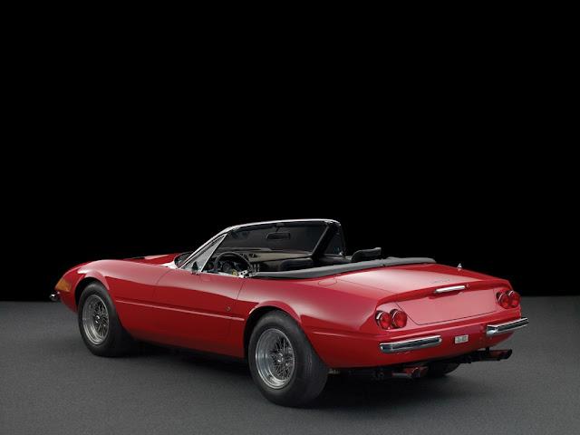 Ferrari Daytona Spyder - Un auto bellamente restaurado