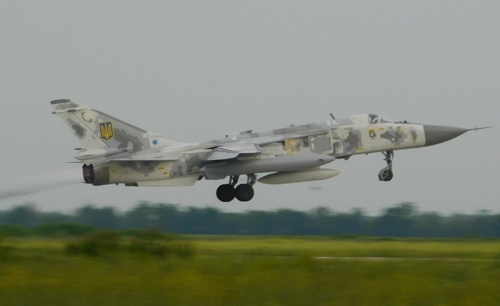 ЗСУ отримали відремонтований бомбардувальник Су-24М