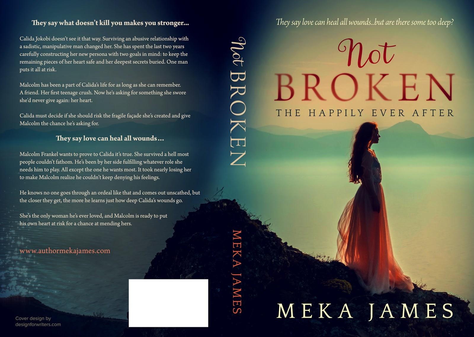 Meka's Musings: Cover Reveal - NOT BROKEN
