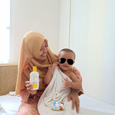 sabun mandi bayi 2in1