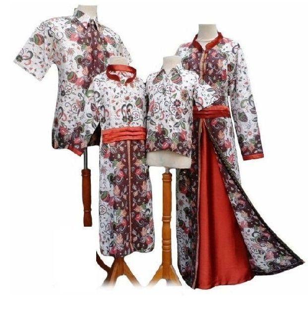Model Baju Batik Couple Keluarga Untuk Pesta Terbaru