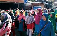 Rangkaian HAB ke-74 Kemenag, Ribuan Warga dan Pelajar Ramaikan Jalan Sehat Berhadiah