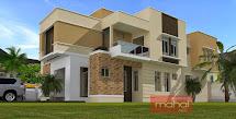Nigerian House 5 Bedroom Duplex Designs