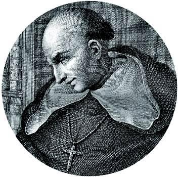 Bartolomé de Las Casas, grabado.