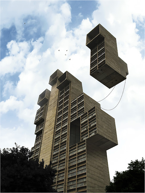 Floating Building, Maison Volante, Cédric Gilbert, architecture