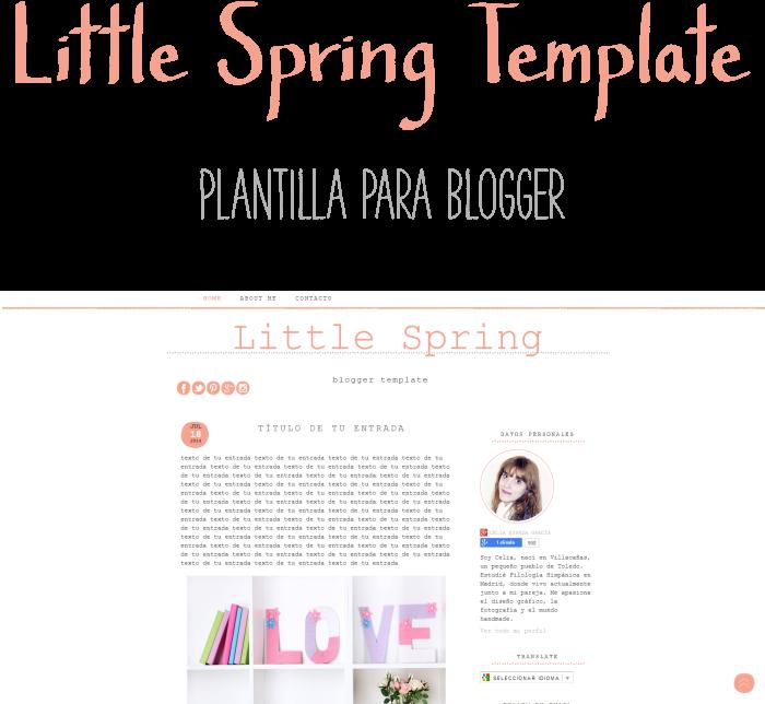 Plantilla Prediseñada para Blogger